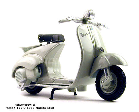 Vespa on Vespa 125u 1953 125 U 1 18 Maisto Very Rare   Ebay