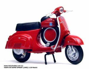Vespa 90 Super Sprint (1965) 1:18 Scale #0155