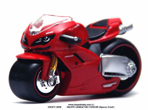 DUCATI 1098 CARICATURE VERSION MAISTO (free shipping) approx 3 inch r #0434