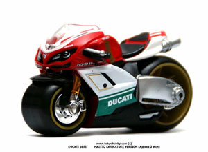 DUCATI 1098 CARICATURE VERSION MAISTO (free shipping) approx 3 inch rw #0435