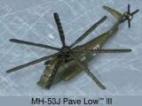 MH53J PAVE LOW III SIKORSKY USAF Maisto military aircraft approx 12cm #tw0022